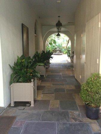La Maison Soniat : Corridor.