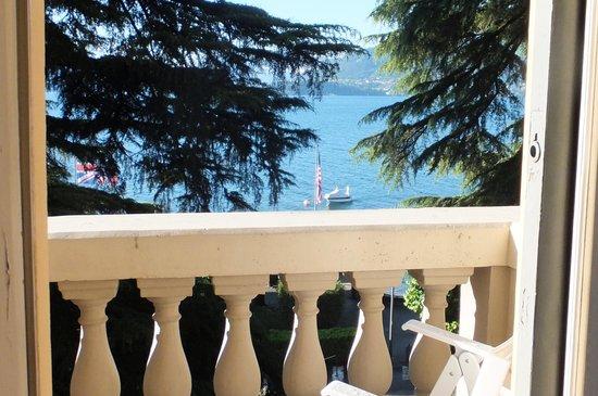 Grand Hotel Victoria: Lake view.