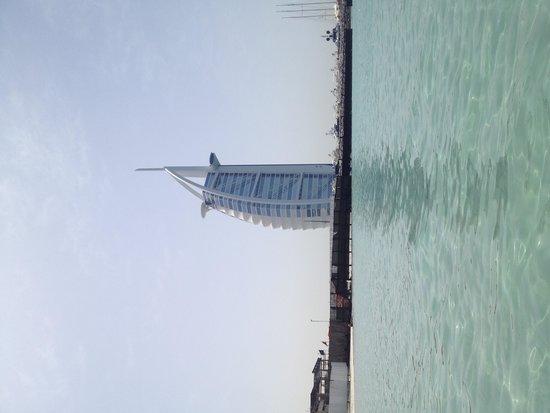 Palm Jumeirah: Burj Alrab view