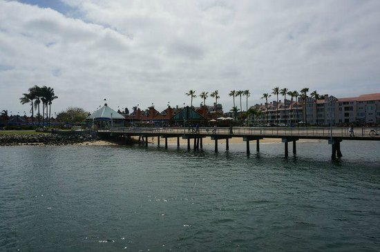 Coronado Island: A bridge to link us from the cruise