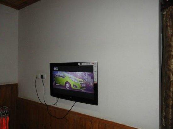 Hotel Bhagsu - HPTDC: tv