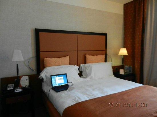 Crowne Plaza Milan - Malpensa Airport: Room view