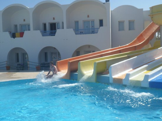 Hotel Meninx: Toboggans