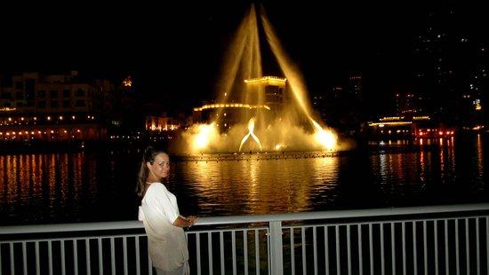 La Fuente de Dubai: фонтаны Дубаи