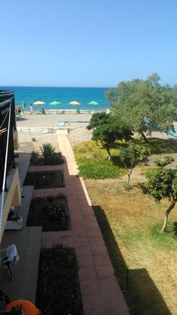 Baladinos Apartments : vista dalla terrazza