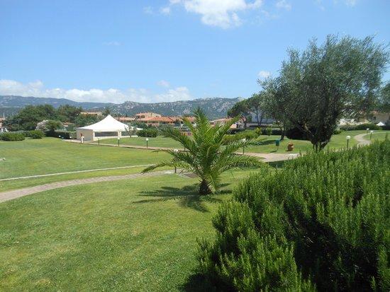 Blu Hotel Morisco Village: Giardino circostante l'hotel