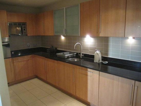 Clarion Hotel Liffey Valley: More than adequate kitchen if you were self catering