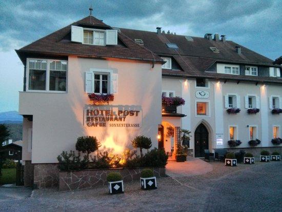 Hotel  Post Victoria: Al tramonto....