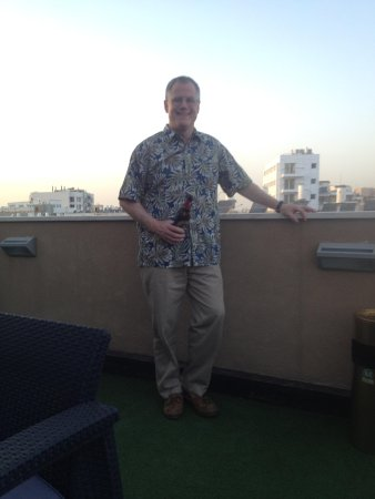 The Port Hotel Tel Aviv: on the roof deck