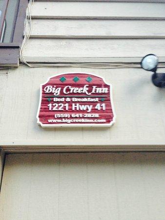 Yosemite Big Creek Inn : Front of building