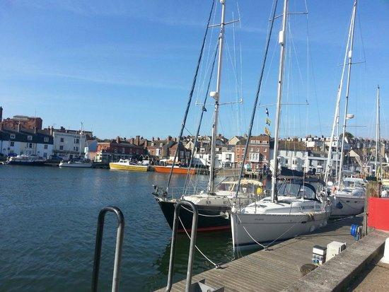 East Fleet Farm Touring Park: Weymouth Harbour