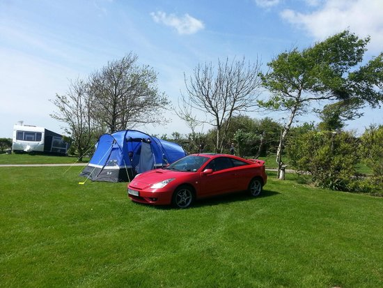 East Fleet Farm Touring Park: Our pitch in May 14