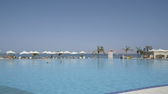 Cleopatra Luxury Resort Sharm El Sheikh: infinity pool