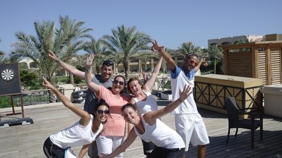 Cleopatra Luxury Resort Sharm El Sheikh: animation team