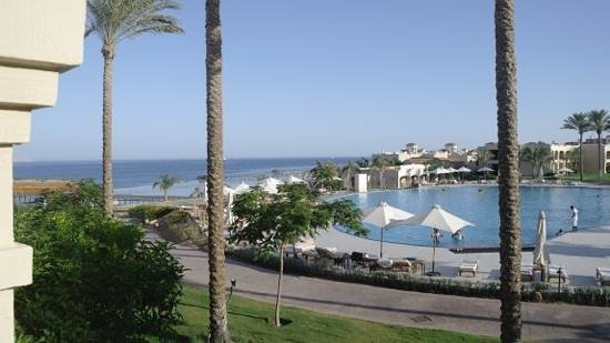 Cleopatra Luxury Resort Sharm El Sheikh : view from our room