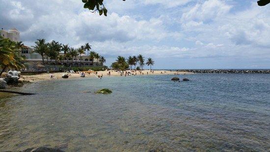 Embassy Suites by Hilton Dorado del Mar Beach Resort: Área de la playa