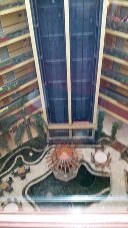 Embassy Suites by Hilton Dorado del Mar Beach Resort: Vista desde el ascensor