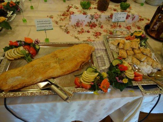 Guesthouse Narfastadir: buffet