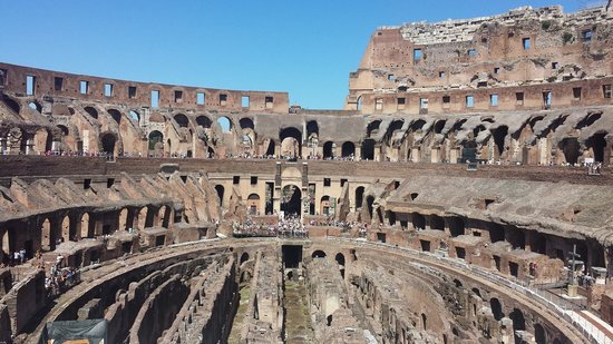 City Wonders: Inside the Colosseum July 2014