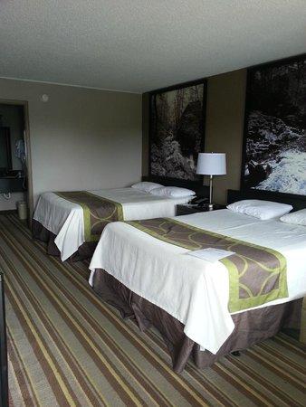 Super 8 - Monteagle TN : Beds were comfy.
