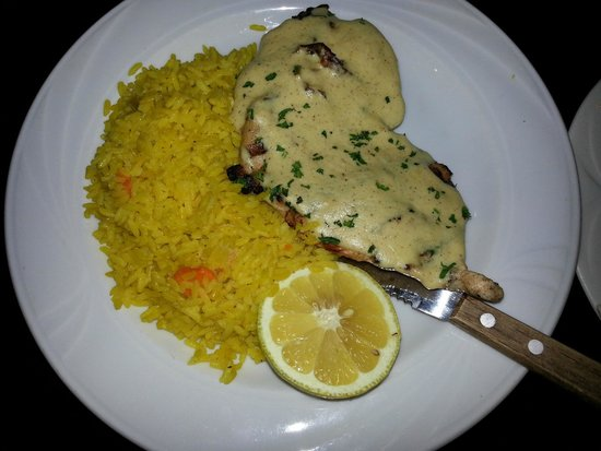 Doubletree Houston Intercontinental Airport : Grilled Chicken from Restaurant