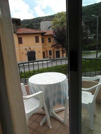 Hotel Della Torre: vista lato monte