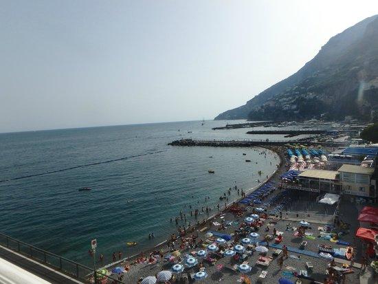 Hotel Marina Riviera : View from room.