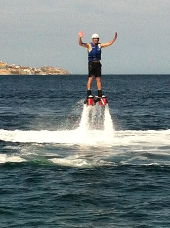 Cabo FlyBoard: WooHoo!