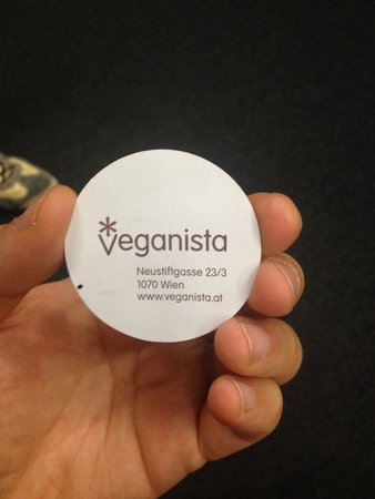 Veganista Ice Cream : Address.