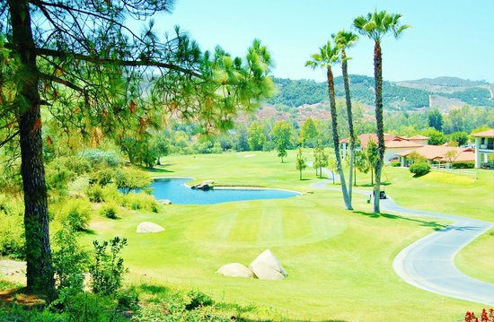 Welk Resort San Diego : Hole at the beautiful gold course