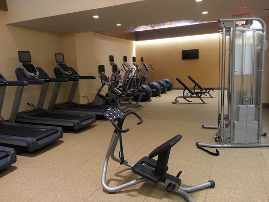 Homewood Suites by Hilton New York/Midtown Manhattan Times Square-South, NY: Gimnasio
