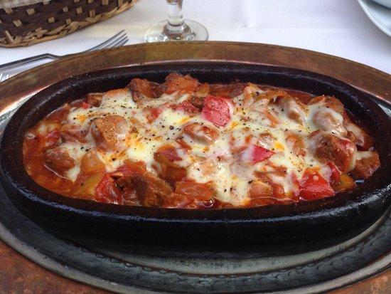 Fuego Restaurant: Leckerer Auflauf für 25TL ... steht auf Karte (mit Bild)