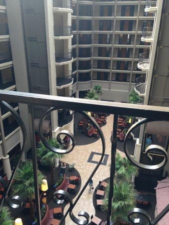 Hyatt Regency Green Bay: View from 6th Floor