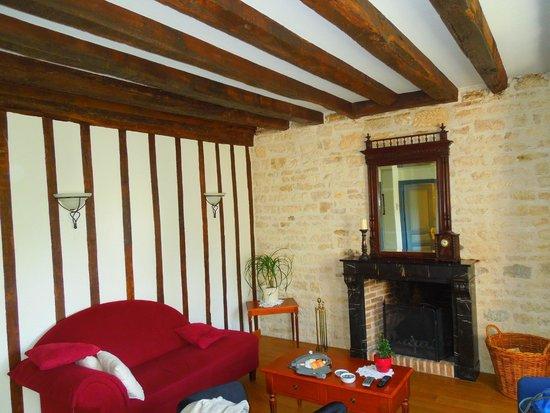 Moulin Le Cygne: living room