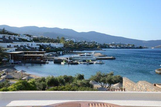 Elounda Peninsula All Suite Hotel: вид из номера