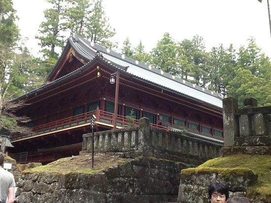 Rinnoji Temple: Daigoma-do (sala para rezar) do Templo Rinnoji