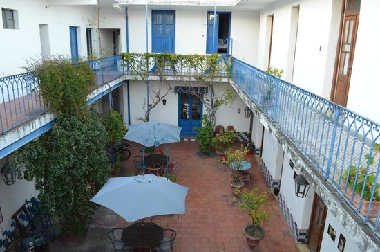 Hostel Colonial: Patio