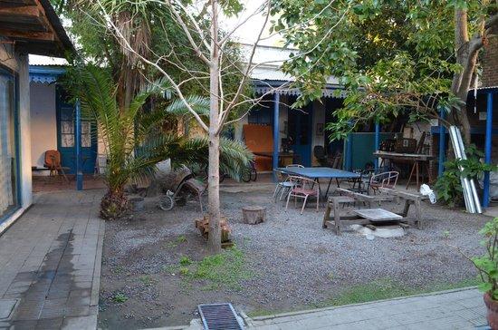 Hostel Colonial : Área da churrasqueira