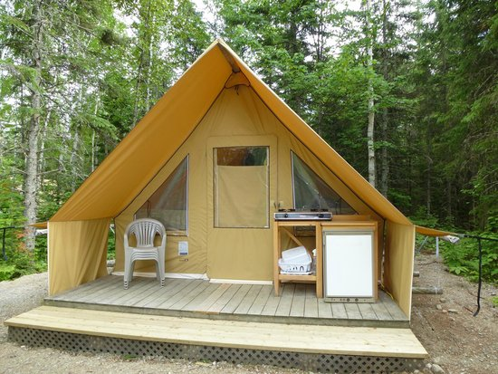 tente Hutopia - Picture of Parc National des Grands Jardins ...