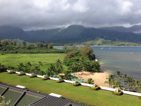 St. Regis Princeville Resort: View of Hanalei Bay