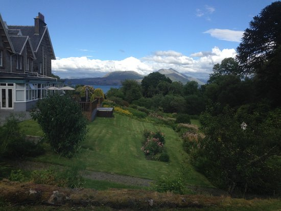 Duisdale House Hotel: View from the Garden Suite to the Sound of Sleat