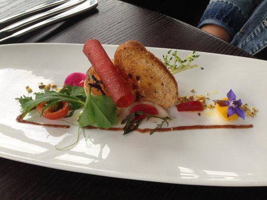 Duisdale House Hotel : One of the beautifully presented appetizers