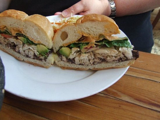 The James New York : Mexican Sandwich