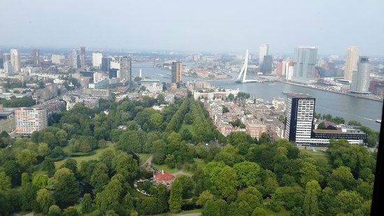 Euromast Tower: Big Rotterdame brige