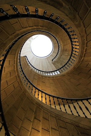 Museo do Pobo Galego : Treppe im inneren des Museums