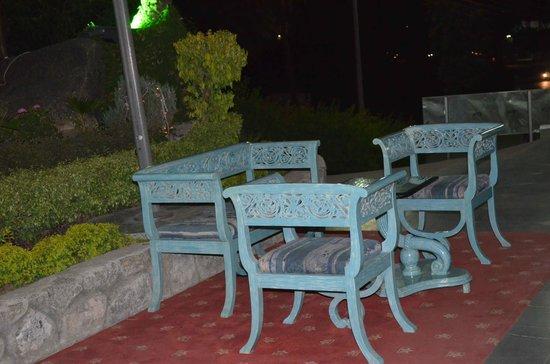 Hotel Karnavati: carrom table for us