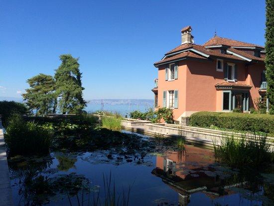Les jardins de l'eau du Pré Curieux : Maison