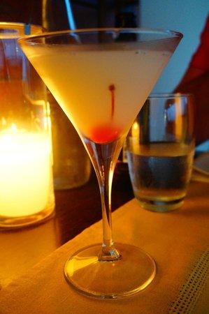 Ginger Sushi Lounge : Lychee martini