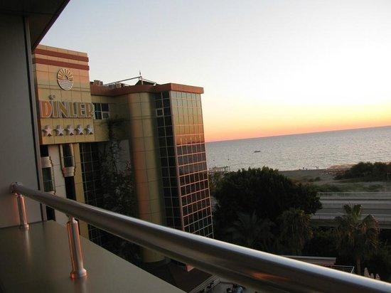 Dinler Hotels - Alanya: вид с балкона