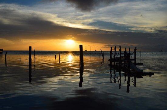 Caye Caulker sunset